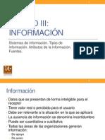 ADM II Unidad III Informacion