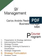 6. Strategy Formulation