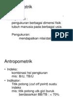 Antropometri Idk