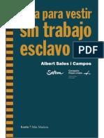 Albert Sales i Campos - Guía para vestir sin trabajo esclavo