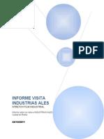Informe Visita Industrias Ales
