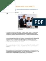 26-09-2013 -Sexenio Puebla - Reconocen SNTE y Monte de Piedad, impulso de RMV a la educación