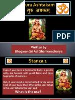 Guru Ashtakam by Adi Shankaracharya