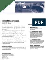 Kunkel Report Card