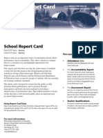 MAMS Report Card