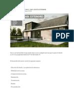 Tutorial de 3d Studio Max Exterior