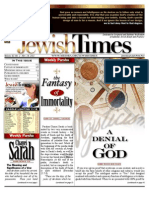Jewishtimes - Volume XI, No. 2...Nov. 18, 2011