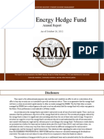Energy Semi Annual Energy Hedge Fund