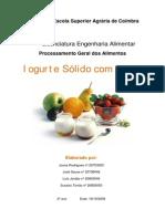 Processamento Do Iogurte