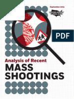 Analysis of Mass Shootings