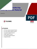141140616 3G Capacity Monitoring Sharing Session Material