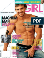 Playgirl August 2007- Magazine