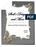 Shell's Designs and More Newsletter Vol 1 Issue 1 Fall 2013