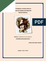 Economia Social Boliviana