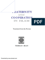 Fraternity and Cooperation in Islam