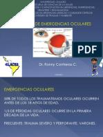 Manejo de Emergencias Oculares