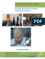 Final Nutrition Cluster 2012 Evaluation Report 2013-02-20