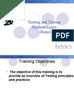 Testing Methdologies