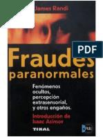 Libro Fraudes Paranormales