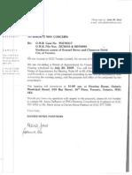 Clonmore Development Omb Notice