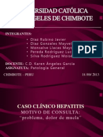 Caso de Hepatitis Patologia Odontologia IV Ciclo
