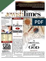 Jewishtimes - Volume XI, No. 2...Nov. 18, 2011