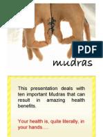 Mudras for meditation