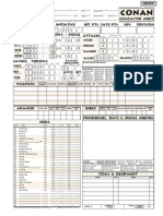 Conan onepage Sheet