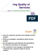 5. Measuring Quality of Service