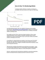 Negative Correlation Reduce Portfolio Risk
