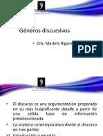 Géneros discursivos tercer encuentro 2011