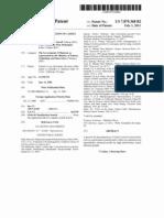Kacip Fatimah USA Patent