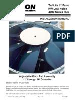 Installation Manual Serial 4000 HW - Tuf-Lite II
