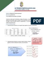 Santiago Sarmiento Metodo Burbuja