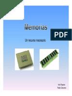 Presentacion Memorias