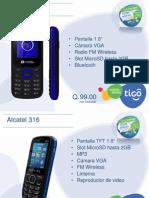 Catalogo Teléfonos Tigo