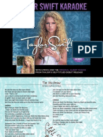Digital Booklet - Taylor Swift Karaoke.pdf