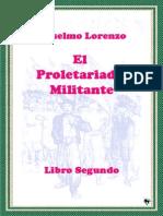 Lorenzo Anselmo El Proletariado Militante Libro Segundo