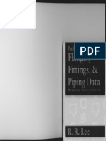 Flanges, Fittings, & Piping Data