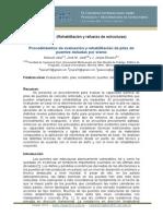 CINPAR 129Procedimientos de evaluación y rehabilitación de pilas de