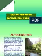 CLASE 2 Gestion Ambiental - Antecedentes