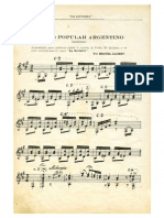 IMSLP214374-PMLP136212-Llobet Estilo Popular Argentino in F Sharp Minor