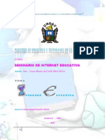 Monografia Internet Educativa2013