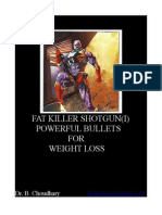 FAT-KILLER-SHOTGUN-POWERFUL BULLETS for WEIGHT LOSS