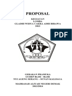 Proposal Lomba GWCAB