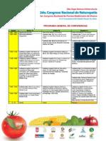 Conferencias Programa Final