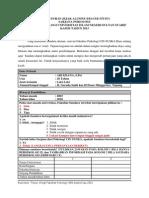 Kuosioner Tracer Study Psikologi Uin 2013