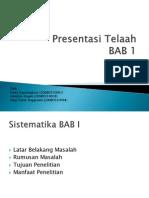 Presentasi BAB 1-Kemitraan