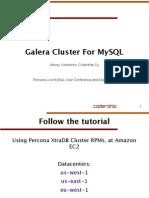 MySQL Galera 集群