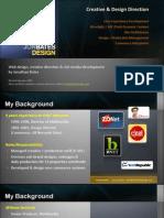Design Portfolio - Jonathan Bates - Creative Director / Interactive Strategist